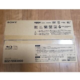 SONY 4K Blu-rayレコーダー BDZ-FBW2000 新品