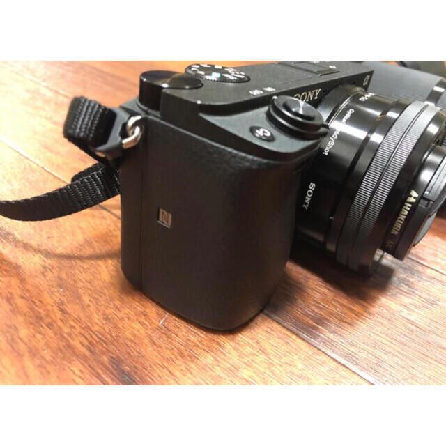SONY(ソニー)のSONY α6400  美品 ミラーレス一眼 ダブルズームレンズキット ブラック スマホ/家電/カメラのカメラ(ミラーレス一眼)の商品写真