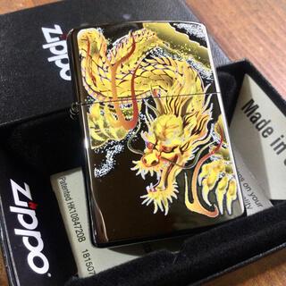 ジッポー(ZIPPO)の新品 Zippo 龍 ブライトアート 和柄 ジッポー(タバコグッズ)