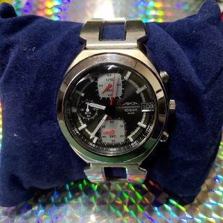 アルバ(ALBA)の【SEIKO/セイコー】ALBA AKA クロノグラフブラック(腕時計(アナログ))