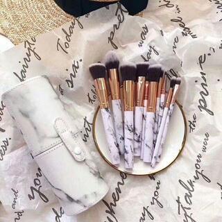 メイクブラシ 10本セット かわいい メイクブラシセット 柔らかい化粧筆