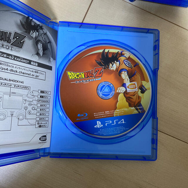 PlayStation4(プレイステーション4)のドラゴンボールZ KAKAROT PS4 エンタメ/ホビーのゲームソフト/ゲーム機本体(家庭用ゲームソフト)の商品写真
