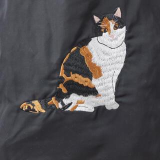 イアパピヨネ(ear PAPILLONNER)のイアパピヨネ 未使用 ネコ 猫 刺繍(トートバッグ)