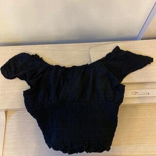 ジルスチュアート(JILLSTUART)のジルスチュアート トップス ブラック(Tシャツ(半袖/袖なし))