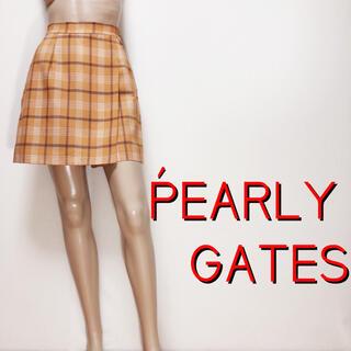 PEARLY GATES - 必需品♪パーリーゲイツ フロントラップキュロット♡キャロウェイ ルコック