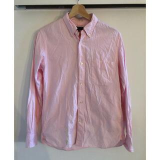コムデギャルソンオムプリュス(COMME des GARCONS HOMME PLUS)のサイズS!COMME des GARCONS HOMME定番シャツ ピンク色(シャツ)