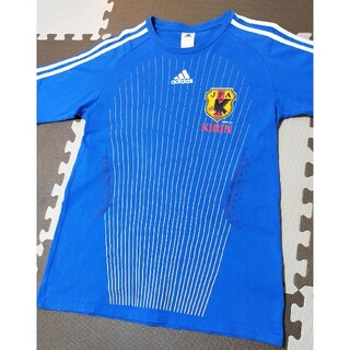 adidas - ☆adidas アディダス JFL 日本代表 Tシャツ ブルー サイズL
