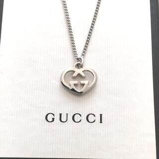 Gucci - GUCCIハートチャームネックレス