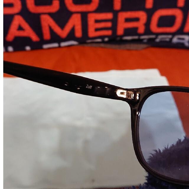 Zoff(ゾフ)のサングラス ブルーレンズ Zoff ゾフ メンズのファッション小物(サングラス/メガネ)の商品写真