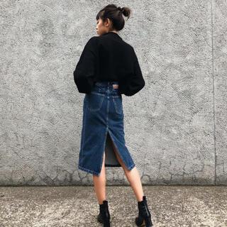 ALEXIA STAM - juemi something denim skirt