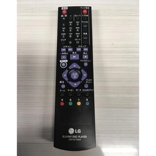 エルジーエレクトロニクス(LG Electronics)のLG BLU-RAY DISC PLAYER リモコン(その他)