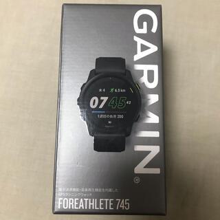 ガーミン(GARMIN)の【新品未使用】GARMIN ガーミン フォアアスリート745 ブラック(ランニング/ジョギング)