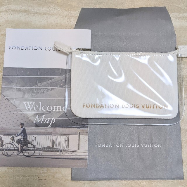 LOUIS VUITTON(ルイヴィトン)の新品 ルイヴィトン フォンダシオン美術館 ポーチ レディースのファッション小物(ポーチ)の商品写真
