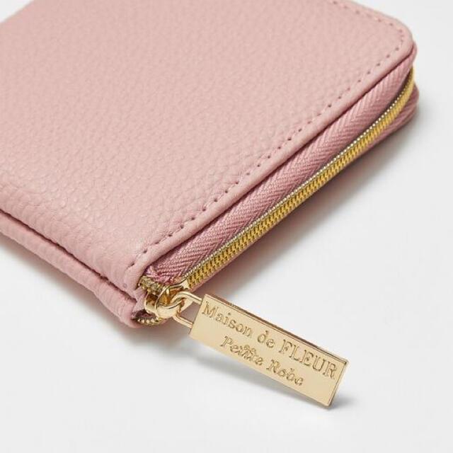 Maison de FLEUR(メゾンドフルール)のMORE付録 メゾンドフルール ミニ財布 レディースのファッション小物(財布)の商品写真