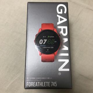 ガーミン(GARMIN)の【新品未使用】GARMIN ガーミン フォアアスリート745(ランニング/ジョギング)