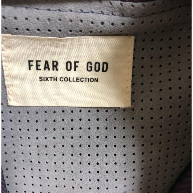 FEAR OF GOD(フィアオブゴッド)の(売り切れ)fear of god 6th ナイロンジャケット メンズのジャケット/アウター(ナイロンジャケット)の商品写真