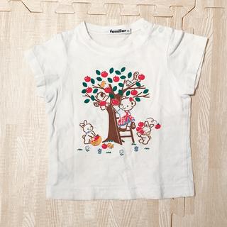 familiar - 80㎝ Tシャツ