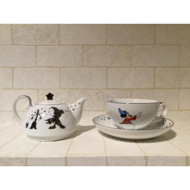 Francfranc(フランフラン)の新品 francfranc ディズニー ファンタジア ティーポット セット インテリア/住まい/日用品のキッチン/食器(食器)の商品写真