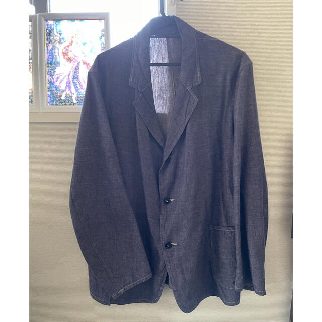 COMOLI(コモリ)のcomoli ダンガリージャケット 20ss メンズのジャケット/アウター(テーラードジャケット)の商品写真