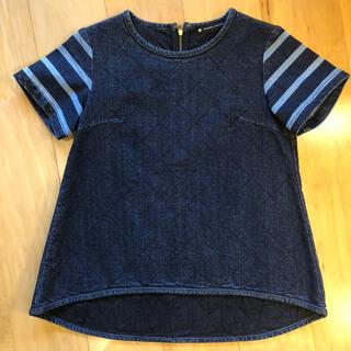 Suma様専用⭐︎ボーダーズアットバルコニー デニムプルオーバー トップス(カットソー(半袖/袖なし))