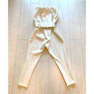 ダブルスタンダードクロージング(DOUBLE STANDARD CLOTHING)のBLUE様専用 ダブルスタンダードクロージング ベアトップジャンプスーツ(オールインワン)