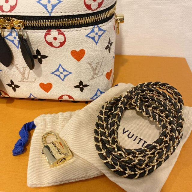 LOUIS VUITTON(ルイヴィトン)のルイヴィトン ゲームオン ヴァニティ PM レディースのバッグ(ハンドバッグ)の商品写真