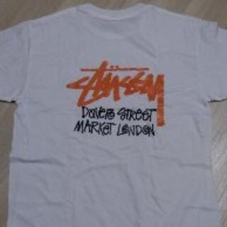 STUSSY - 新品 STUSSY ステューシー デザイン バックプリント ロゴ Tシャツ 白