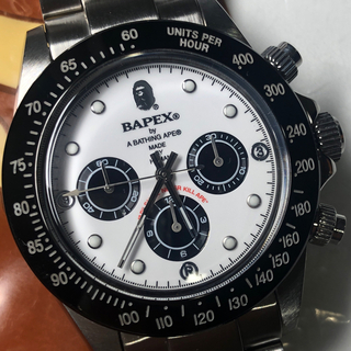 A BATHING APE - BAPEX エイプ 時計 BAPE