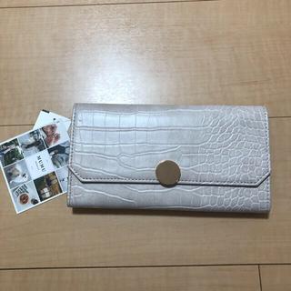 シマムラ(しまむら)のしまむら MUMU クロコ型押し長財布 (財布)