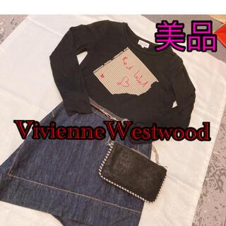 ヴィヴィアンウエストウッド(Vivienne Westwood)の値下げ中!24時間以内発送!!美品 人気 ヴィヴィアン  カットソー (Tシャツ(長袖/七分))