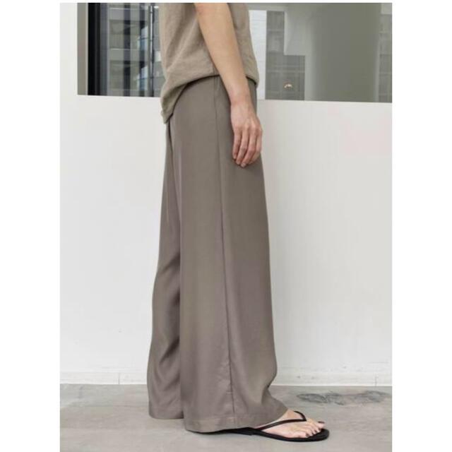 L'Appartement DEUXIEME CLASSE(アパルトモンドゥーズィエムクラス)の新品⭐️L'Appartement Relax Wide pants  レディースのパンツ(カジュアルパンツ)の商品写真