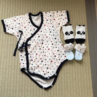 シマムラ(しまむら)の70㎝☆新生児☆肌着☆ベビー靴下(肌着/下着)