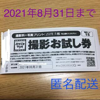 キタムラ(Kitamura)のカメラのキタムラ スタジオマリオ 撮影お試し券 5280円分(その他)