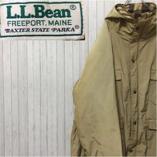 エルエルビーン(L.L.Bean)のエルエルビーン マウンテンパーカー ブランケットライナー ベージュ ビッグサイズ(マウンテンパーカー)