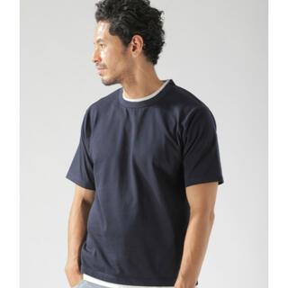 ベイフロー(BAYFLOW)の新品 タグ付き 送料込 ベイフロー BAYFLOW Tシャツ フェイクレイヤード(Tシャツ/カットソー(半袖/袖なし))