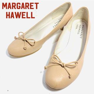 マーガレットハウエル(MARGARET HOWELL)の超美品!MARGRET HOWELL ローヒールパンプス 22.5cm(ハイヒール/パンプス)