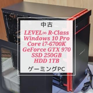 ゲーミングPC パソコン工房 LEVEL∞ R-Class 中古