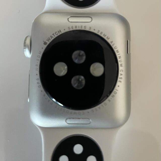 Apple Watch(アップルウォッチ)のAppleWatch3 38mm シルバー メンズの時計(腕時計(デジタル))の商品写真