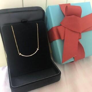Tiffany & Co. - Tiffany&Co. Tスマイル ダイヤモンドネックレス18K ティファニー
