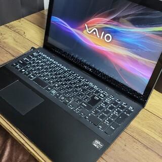 バイオ(VAIO)のSONY VAIO Fit 15 SVF15A18CJB(ノートPC)