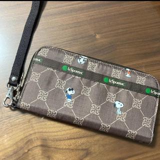 LeSportsac - 美品❣️レスポートサック×スヌーピー 長財布