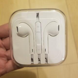Apple - 新品未使用 apple イヤホン