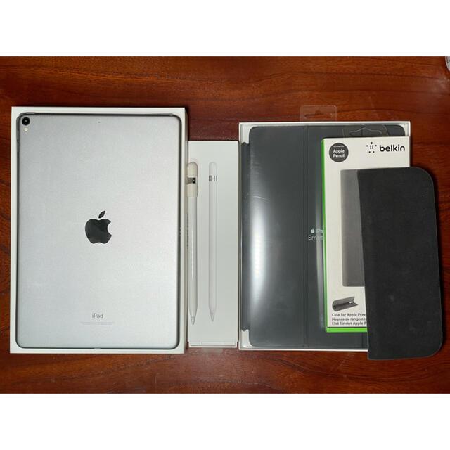iPad(アイパッド)のiPad Pro 10.5 64GB Wi-Fi Apple Pencil付  スマホ/家電/カメラのPC/タブレット(タブレット)の商品写真
