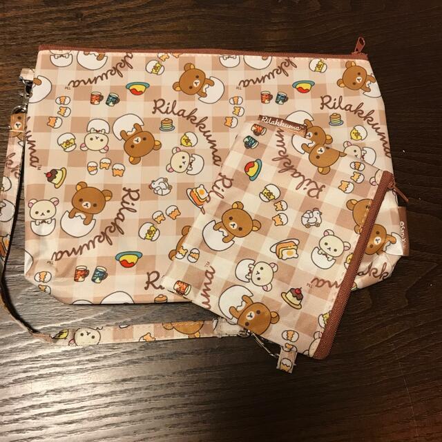 リラックマ ポーチ エンタメ/ホビーのおもちゃ/ぬいぐるみ(キャラクターグッズ)の商品写真