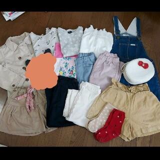 petit main - 女の子 まとめ売り 120 130  春夏服セット