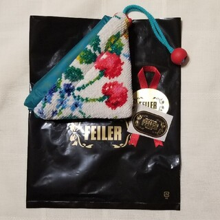 FEILER - 【新品・未使用】フェイラー スウィングチェリー            携帯バッグ