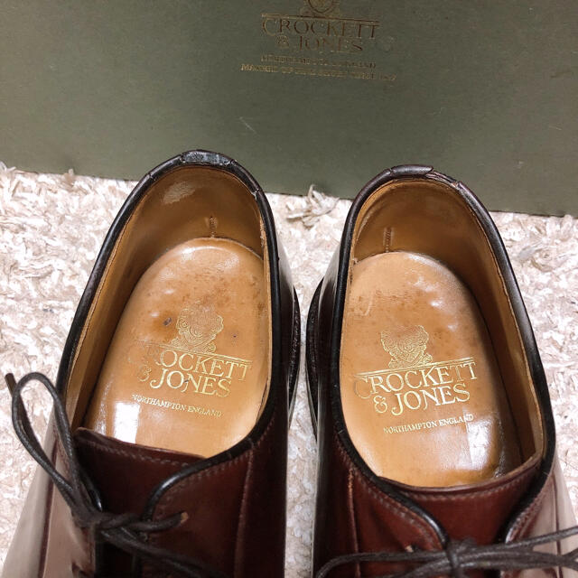 Crockett&Jones(クロケットアンドジョーンズ)のクロケットアンドジョーンズ コードバン メンズの靴/シューズ(ドレス/ビジネス)の商品写真