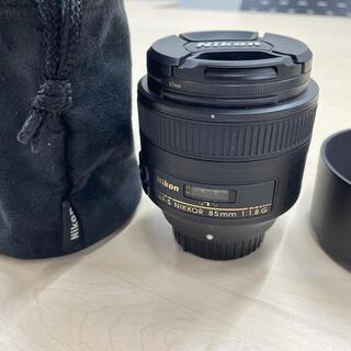 ニコン(Nikon)のNIKON AF-S NIKKOR 85mm 1:1.8G(レンズ(単焦点))