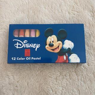 ディズニー(Disney)のDisney ミッキーマウス 12色クレヨン(クレヨン/パステル)