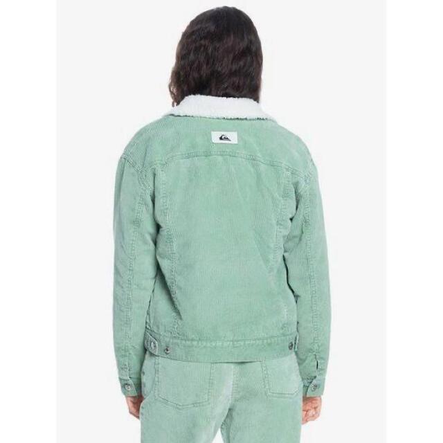 Roxy(ロキシー)の美品 QuickSilver コーデュロイ ボアジャケット L メンズのジャケット/アウター(ブルゾン)の商品写真
